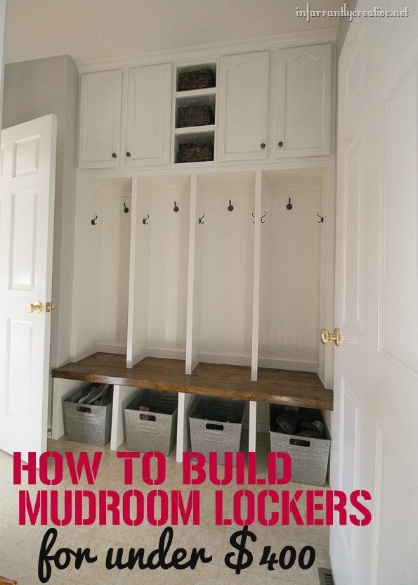 Best ideas about DIY Mudroom Lockers Plans . Save or Pin Mudroom Locker Final Reveal Now.