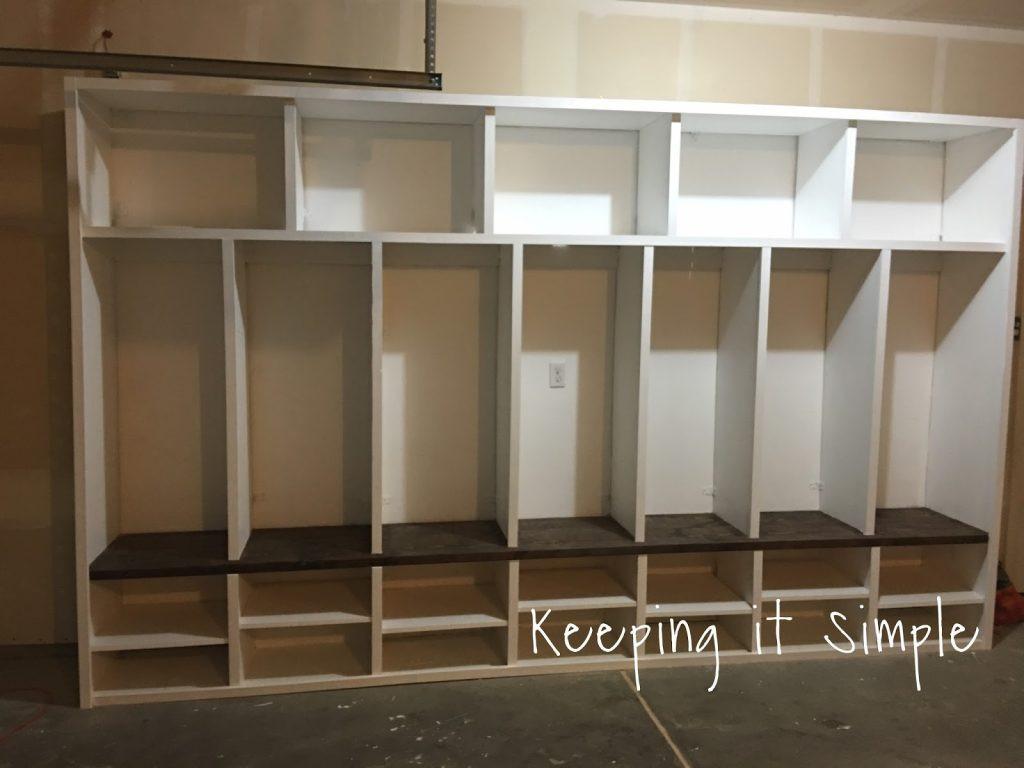 Best ideas about DIY Mudroom Lockers Plans . Save or Pin DIY Garage Mudroom Lockers with Lots of Storage • Keeping Now.