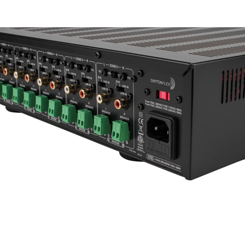 Best ideas about DIY Multi Room Audio . Save or Pin Dayton Audio MA1240a Multi Zone 12 Channel Amplifier Now.