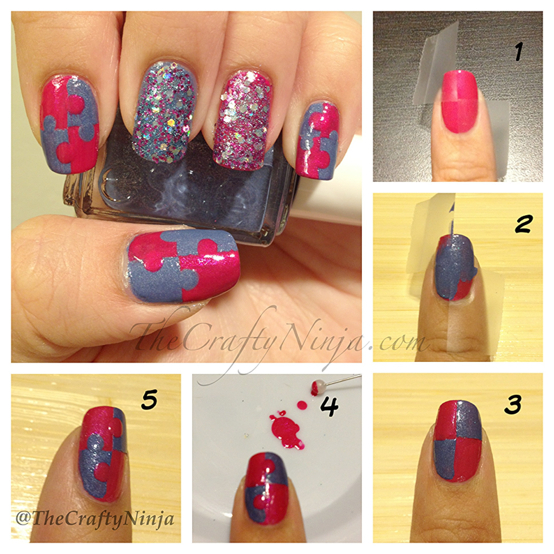 Best ideas about DIY Nail Art . Save or Pin 12 Amazing DIY Nail Art Designs Now.