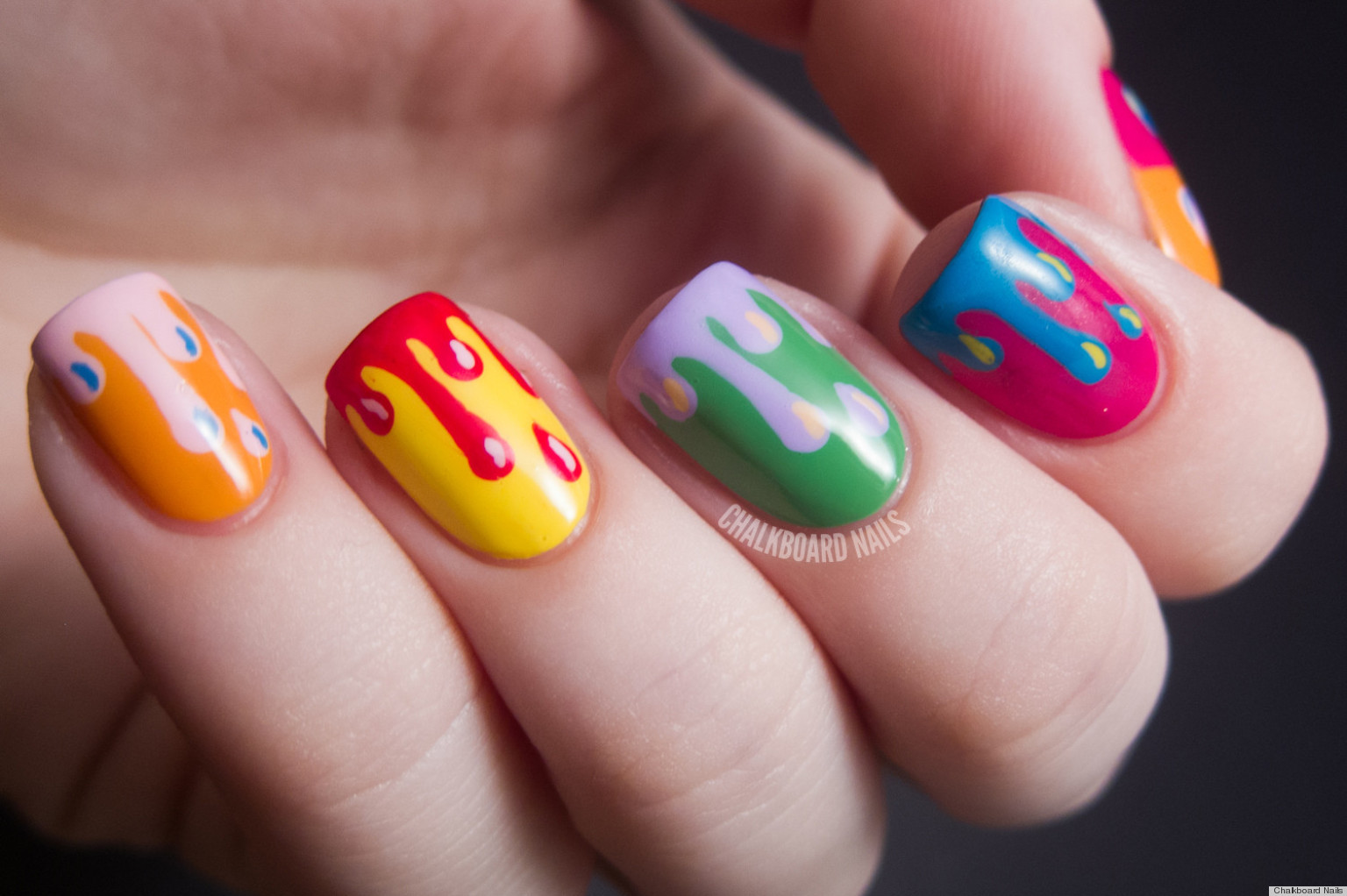 Best ideas about DIY Nail Art . Save or Pin DIY Nail Ideas Paint Drip Nail Art And More Our Now.