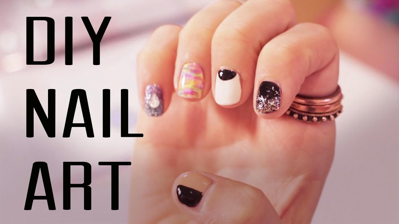 Best ideas about DIY Nail Art . Save or Pin EASY DIY Nail Art Now.