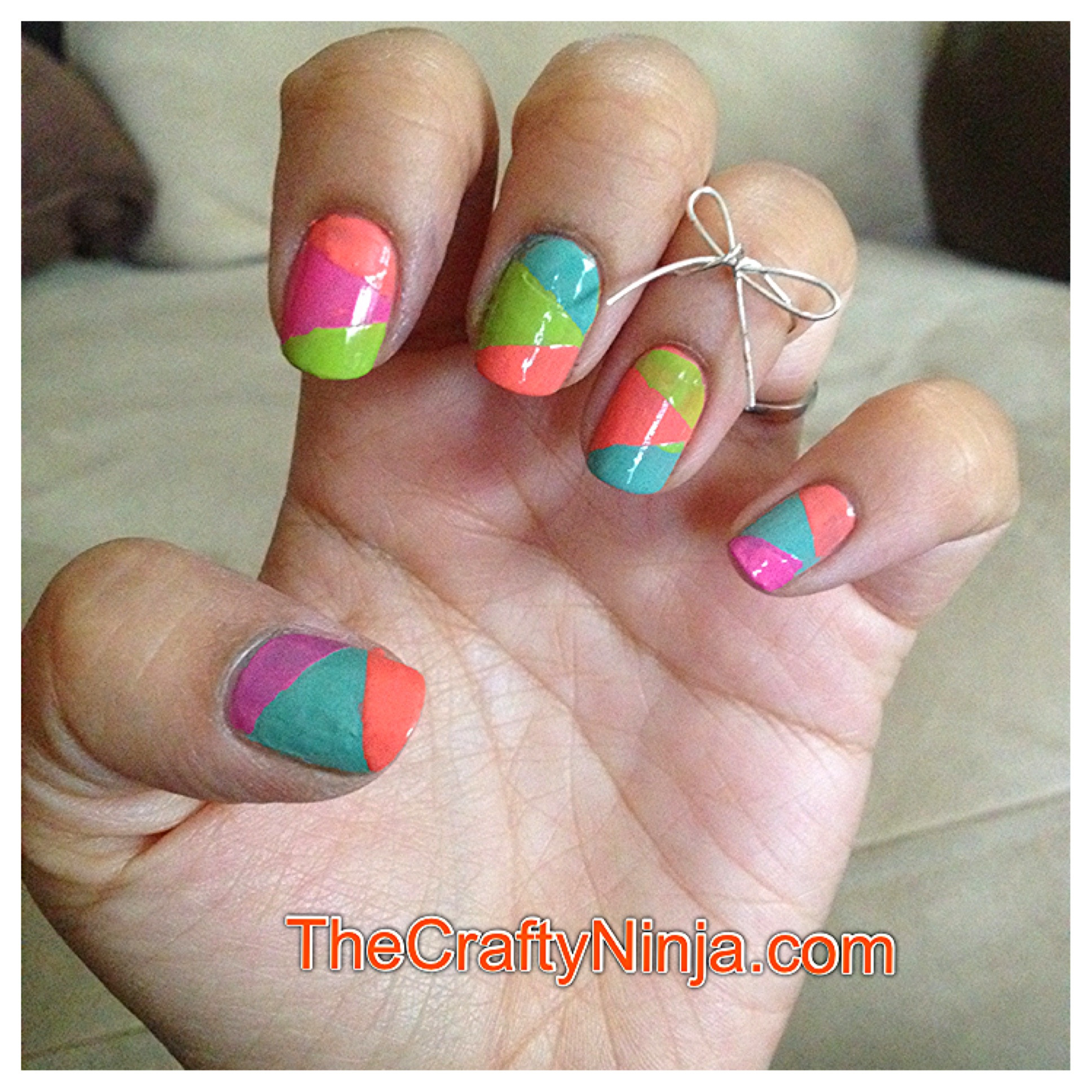 Best ideas about DIY Nail Art . Save or Pin Astounding DIY Nail Art Designs Using Scotch Tape Now.