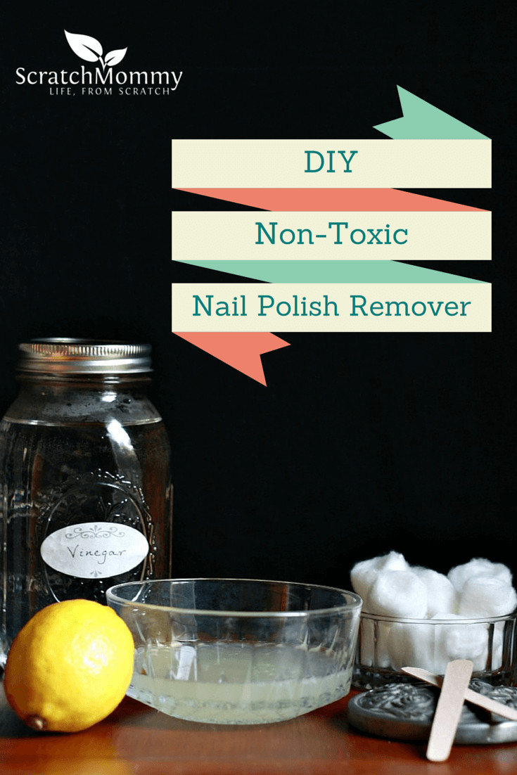 Best ideas about DIY Nail Polish Remover . Save or Pin DIY Non Toxic Nail Polish Remover Pronounce Now.