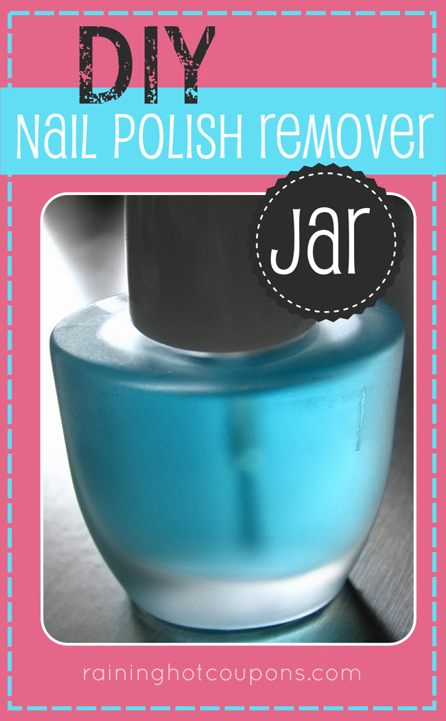 Best ideas about DIY Nail Polish Remover . Save or Pin DIY Nail Polish Remover Jar Now.
