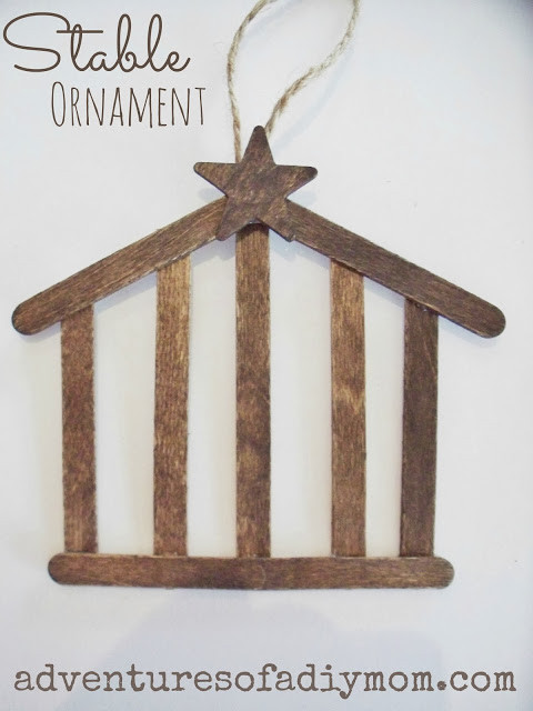 Best ideas about DIY Nativity Stable . Save or Pin How to Make a Stable Ornament 12 Days of CHRISTmas Now.