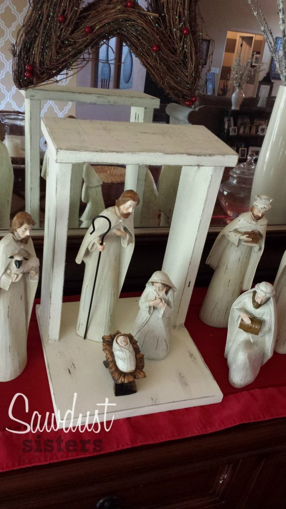 Best ideas about DIY Nativity Stable . Save or Pin Build your own Stylish and EASY Custom DIY Nativity Stable Now.