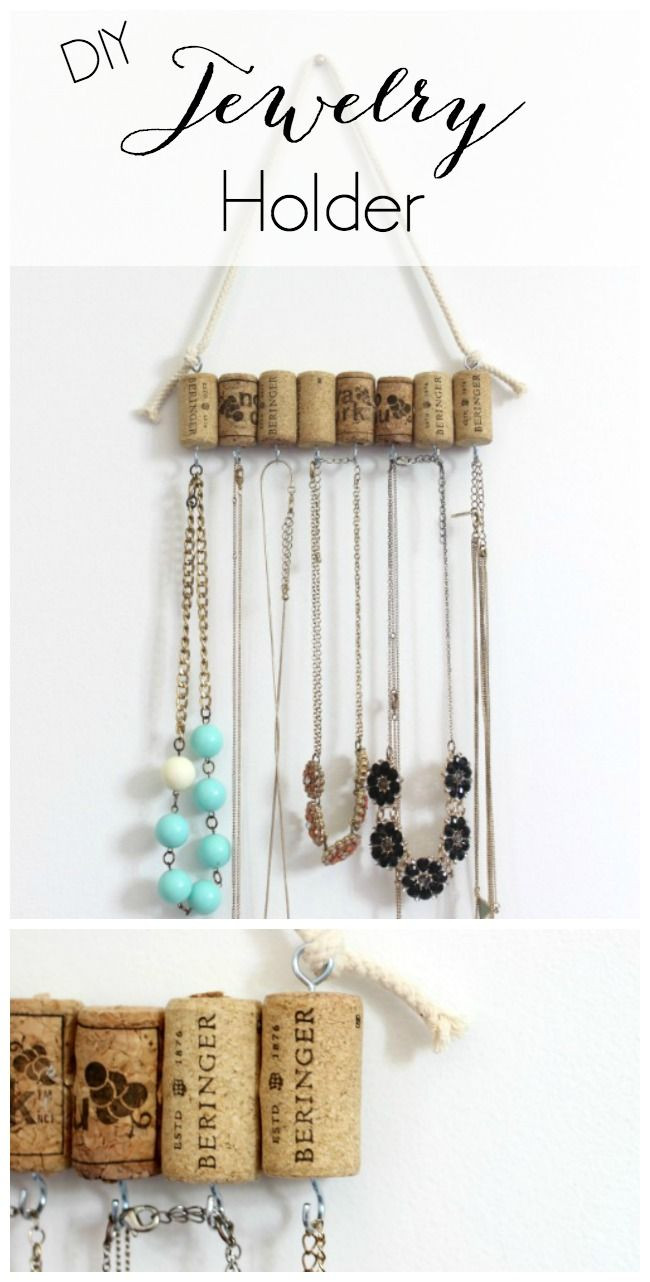 Best ideas about DIY Necklace Holder . Save or Pin Best 25 Diy jewelry holder ideas on Pinterest Now.