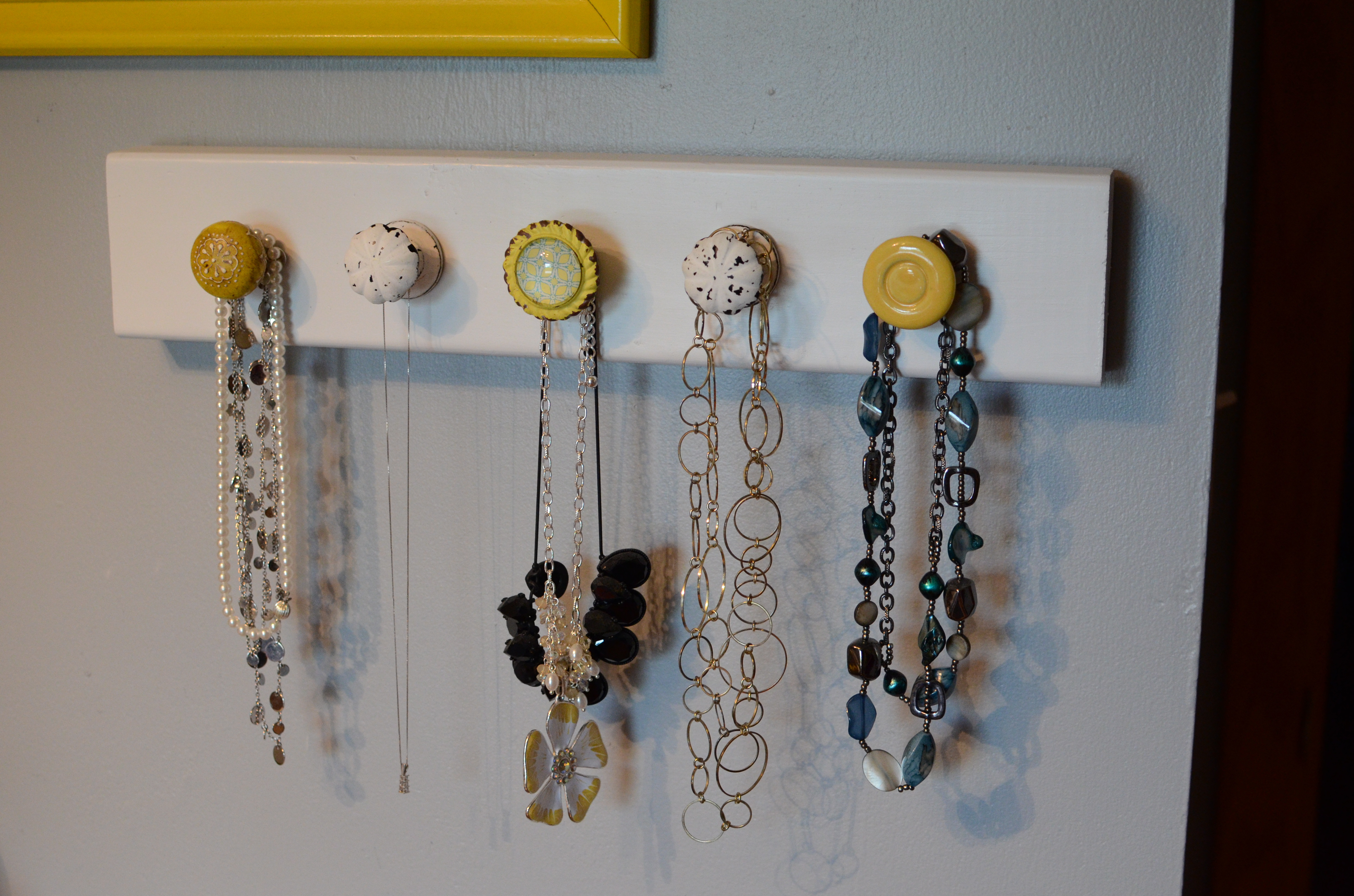 Best ideas about DIY Necklace Holder . Save or Pin DIY – Necklace Holder Now.
