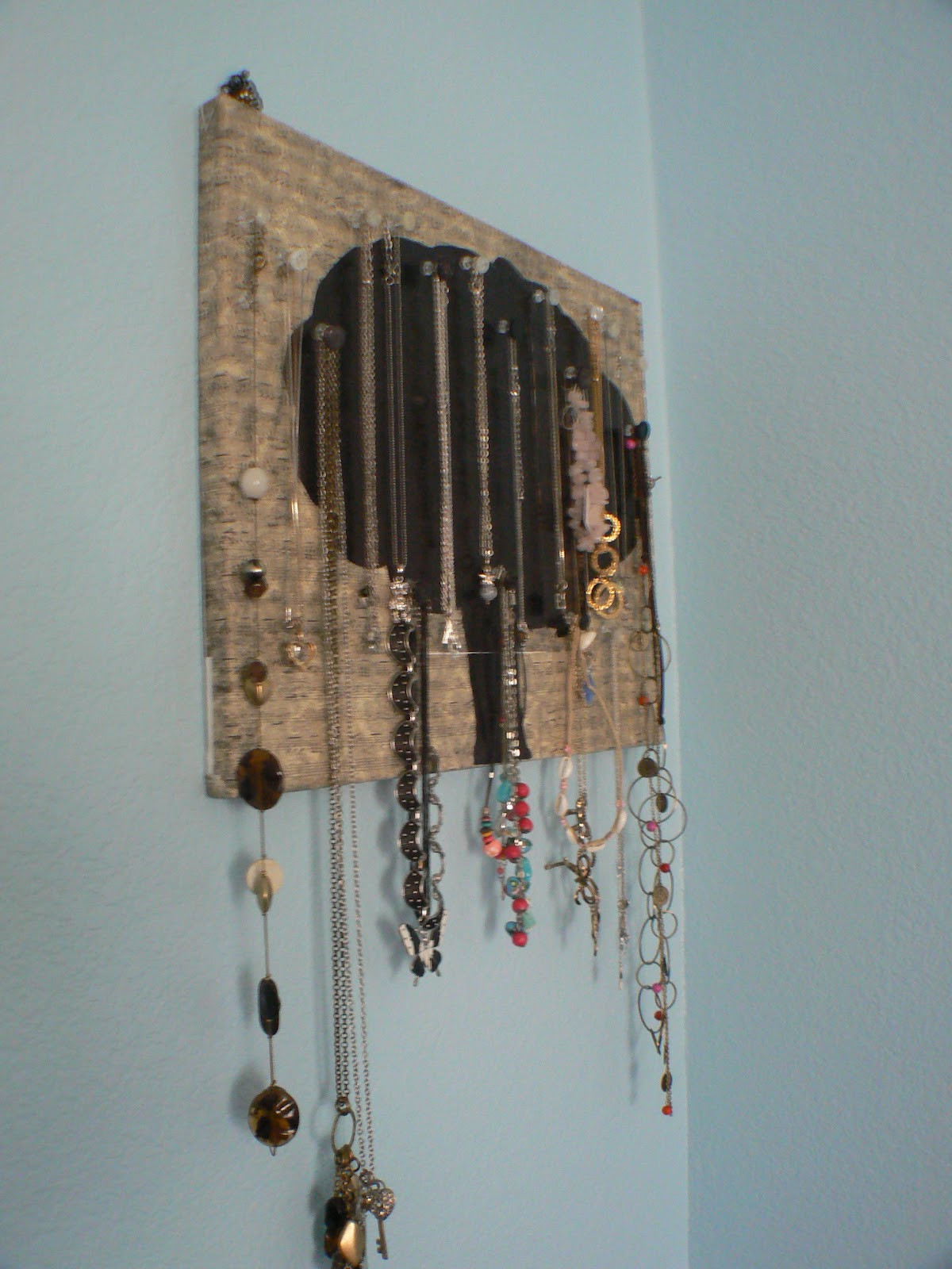 Best ideas about DIY Necklace Holder . Save or Pin Totally Chic DIY Necklace Holder Now.