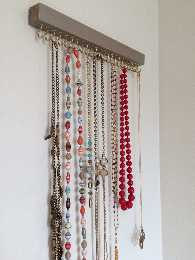 Best ideas about DIY Necklace Holder . Save or Pin Cheap And Practical Necklace Holders You Can Make Yourself Now.