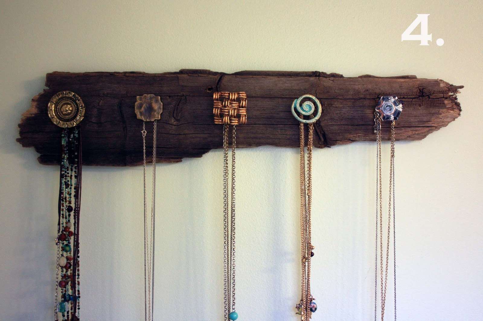 Best ideas about DIY Necklace Holder . Save or Pin Visibly Moved DIY Necklace Holder Now.