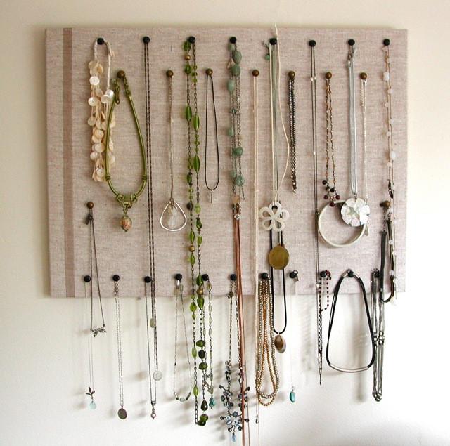 Best ideas about DIY Necklace Holder . Save or Pin 25 Creative Necklace Organization Ideas — the thinking closet Now.