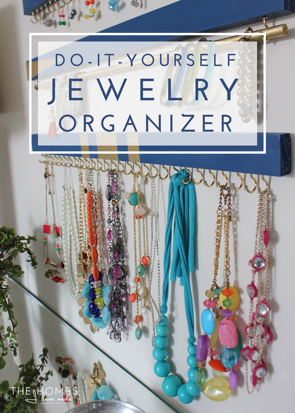 Best ideas about DIY Necklace Organizer . Save or Pin DIY Jewelry Organizer Now.