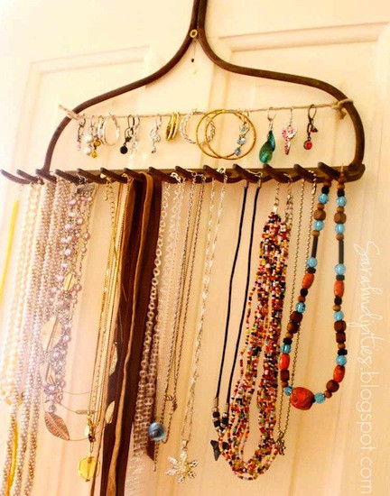Best ideas about DIY Necklace Organizer . Save or Pin 15 Fabulous DIY Jewelry Organizers Balancing Beauty and Now.