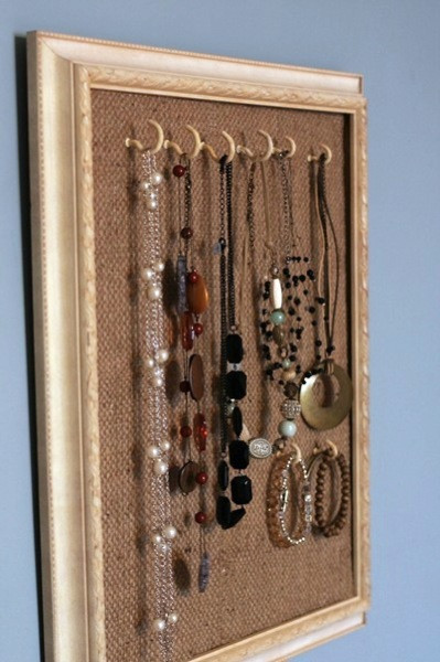 Best ideas about DIY Necklace Organizer . Save or Pin 11 DIY Necklace Storage Ideas Now.