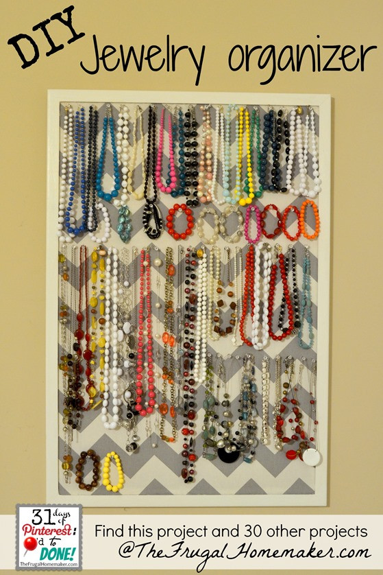 Best ideas about DIY Necklace Organizer . Save or Pin 15 ways to use open storage to organize your home Now.