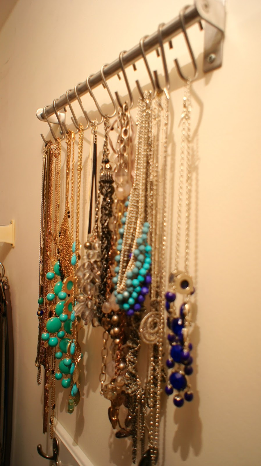 Best ideas about DIY Necklace Organizer . Save or Pin Food Fashion Home Necklace Organizer System Now.
