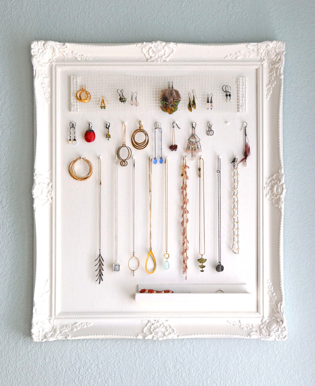 Best ideas about DIY Necklace Organizer . Save or Pin 23 Jewelry Display DIYs Now.