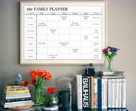 Best ideas about DIY Network Schedule . Save or Pin Family Planner Printable Family Organizer by Now.
