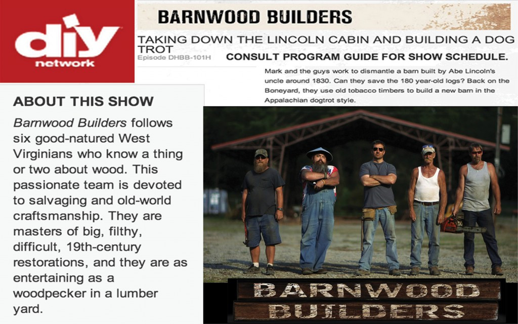 Best ideas about DIY Network Schedule . Save or Pin DIY Network Barnwood Builders Now.