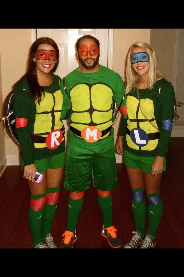 Best ideas about DIY Ninja Turtle Costume . Save or Pin DIY Ninja Turtle Costumes for under $30 BigDIYIdeas Now.