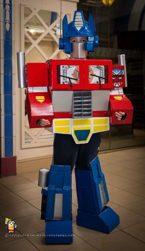Best ideas about DIY Optimus Prime Costume . Save or Pin 117 Best images about Transformer Costume Ideas on Now.