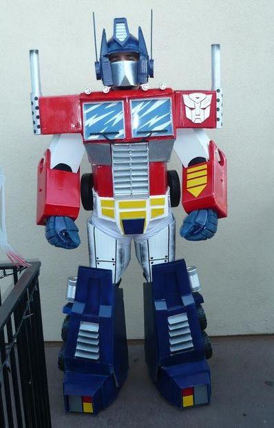 Best ideas about DIY Optimus Prime Costume . Save or Pin Optimus Prime Costume 17 Steps with Now.