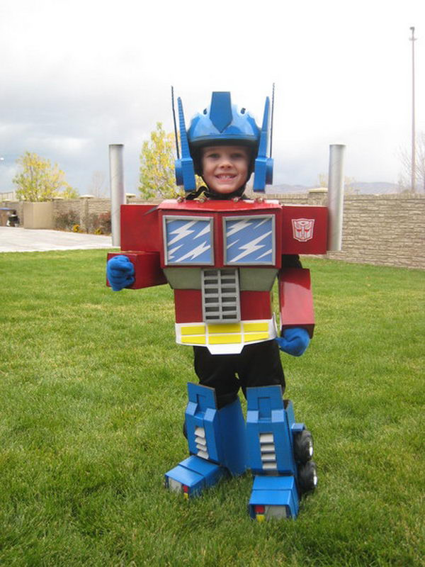 Best ideas about DIY Optimus Prime Costume . Save or Pin 50 Creative Homemade Halloween Costume Ideas for Kids Now.