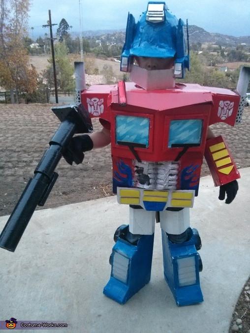 Best ideas about DIY Optimus Prime Costume . Save or Pin Best Optimus Prime Costume for Boys Now.