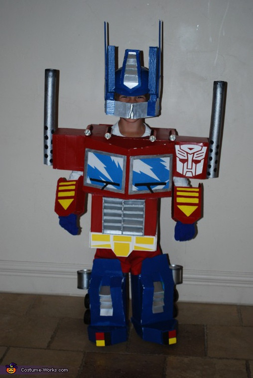 Best ideas about DIY Optimus Prime Costume . Save or Pin Transformers Optimus Prime Halloween Costume Now.