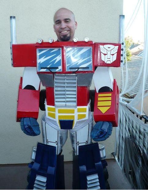 Best ideas about DIY Optimus Prime Costume . Save or Pin Optimus Prime Costume Now.