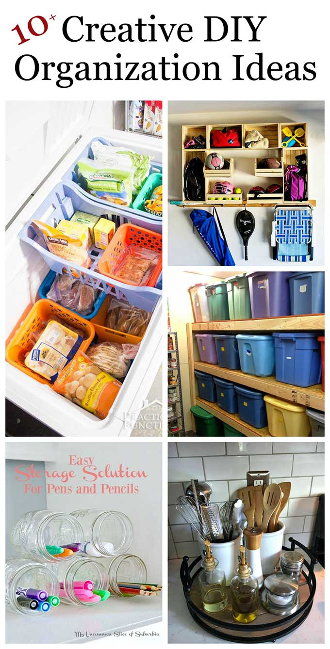 Best ideas about DIY Organization Projects . Save or Pin Creative DIY Organization Ideas For Home House of Hawthornes Now.