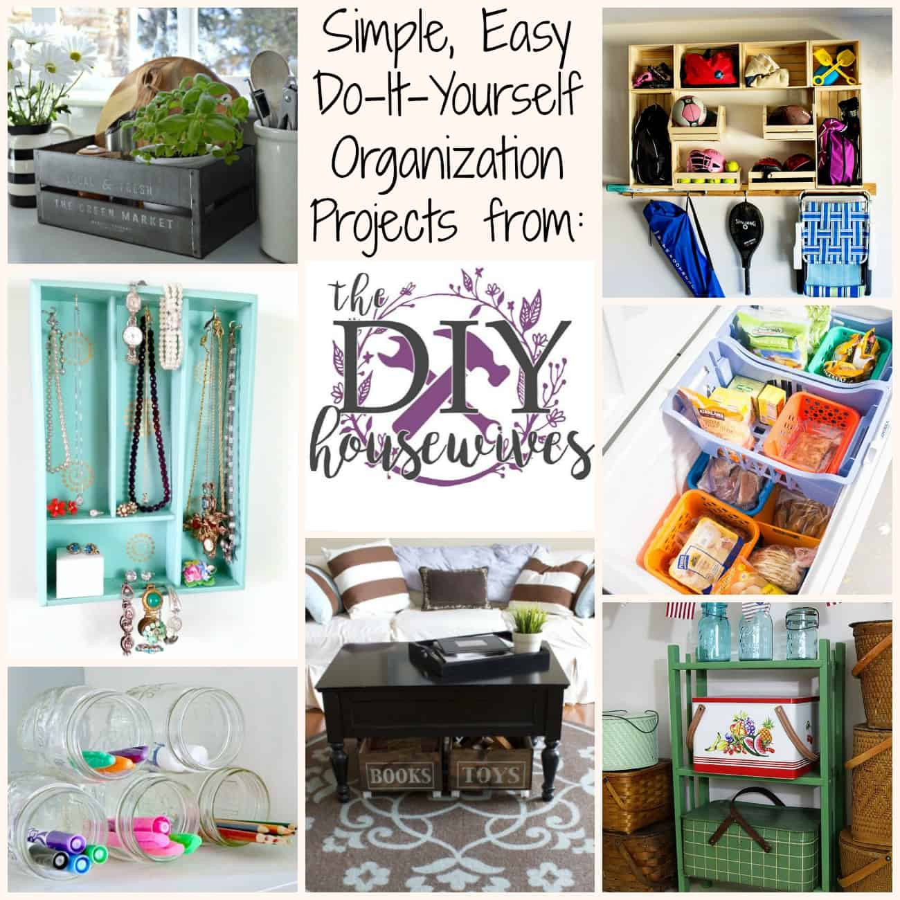 Best ideas about DIY Organization Projects . Save or Pin Storage Organization Projects and Tutorials from The DIY Now.