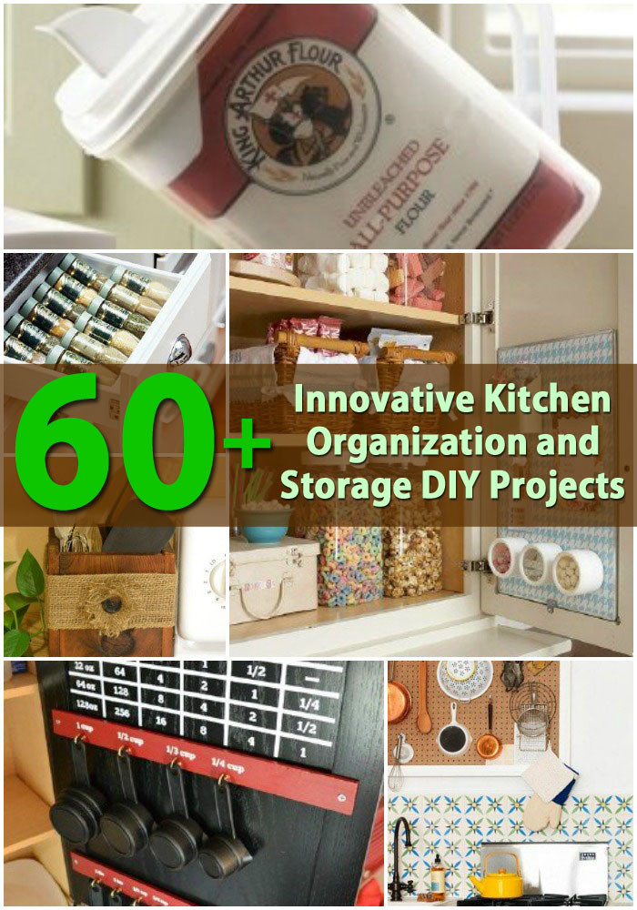 Best ideas about DIY Organization Projects . Save or Pin 60 Innovative Kitchen Organization and Storage DIY Now.
