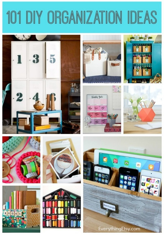 Best ideas about DIY Organization Projects . Save or Pin 12 Craft Room Decorating Ideas on Etsy Now.