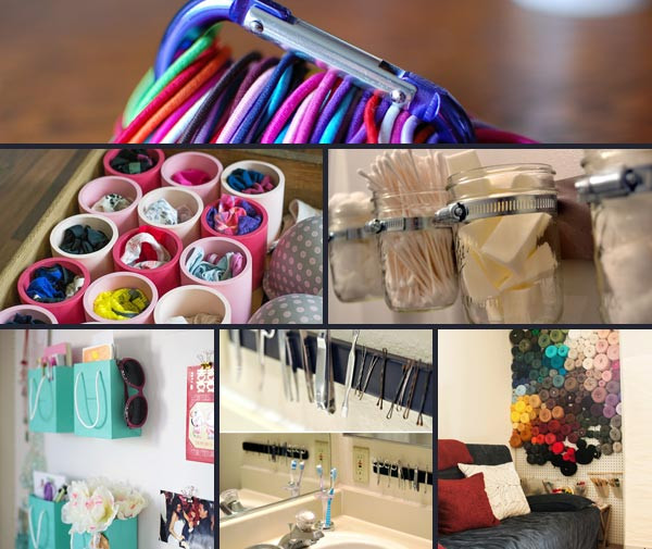 Best ideas about DIY Organizing Hacks . Save or Pin 38 Brilliant Small Stuff Organization Hacks In Your Life Now.