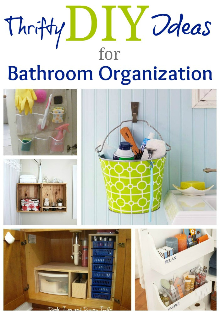 Best ideas about DIY Organizing Projects . Save or Pin Real Life Bathroom Organization Ideas Now.