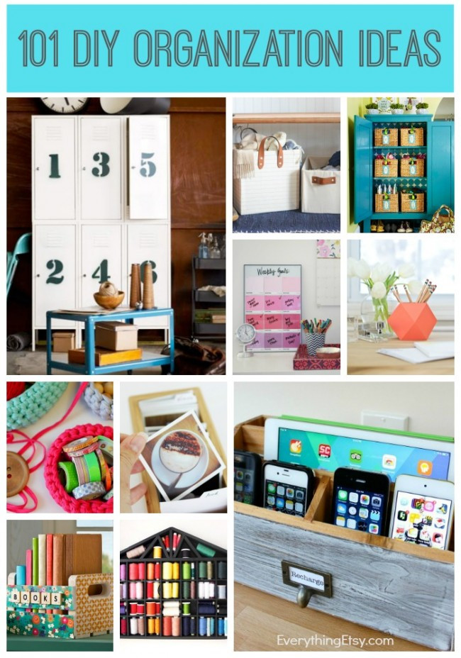 Best ideas about DIY Organizing Projects . Save or Pin 25 DIY Home Organization Ideas Now.