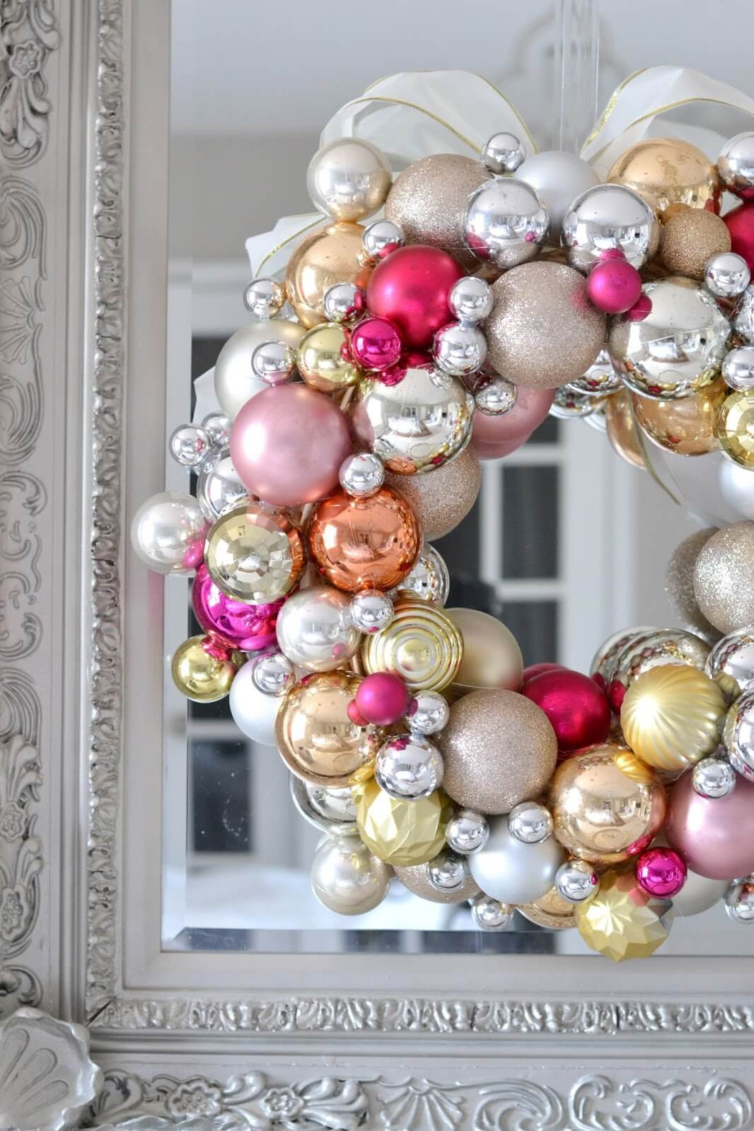 Best ideas about DIY Ornament Wreath . Save or Pin 10 Ways to Repurpose Christmas Ornaments Dukes and Duchesses Now.