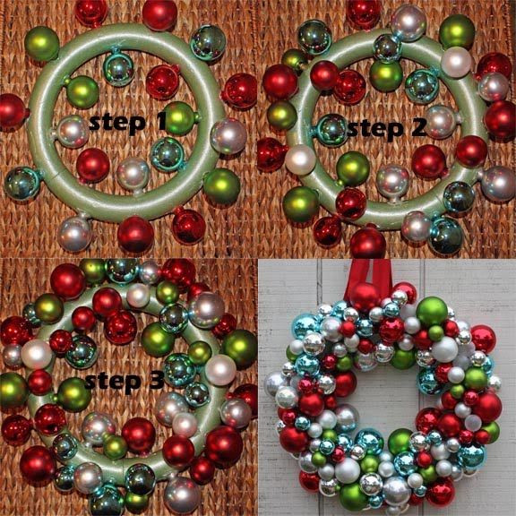 Best ideas about DIY Ornament Wreath . Save or Pin DIY Ornament Wreath Tutorial s and Now.