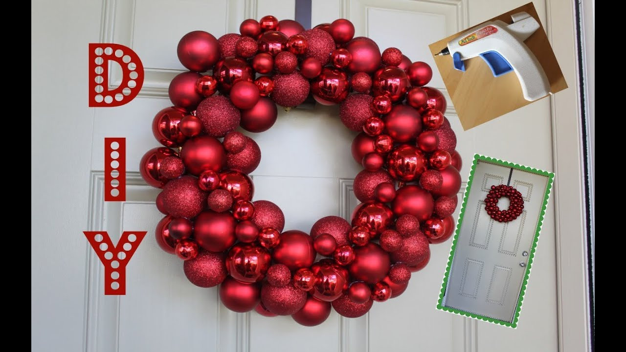 Best ideas about DIY Ornament Wreath . Save or Pin Easy DIY Ornament Wreath Now.