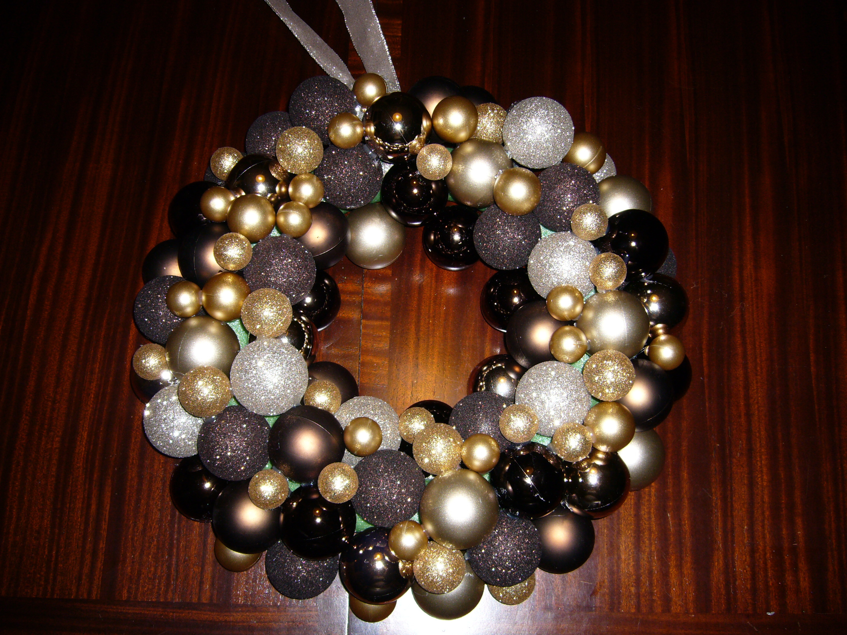 Best ideas about DIY Ornament Wreath . Save or Pin DIY Holiday Ornament Wreath Now.