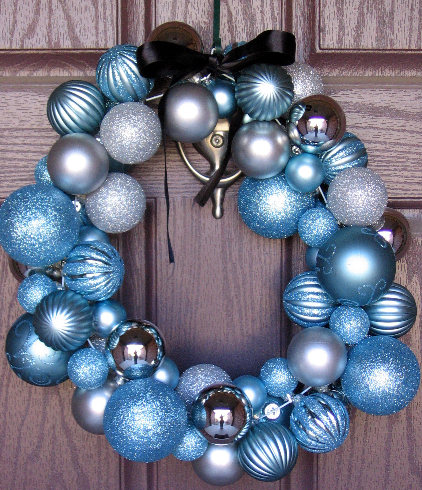 Best ideas about DIY Ornament Wreath . Save or Pin 3 Little Chicks DIY Winter Ornament Wreath Now.