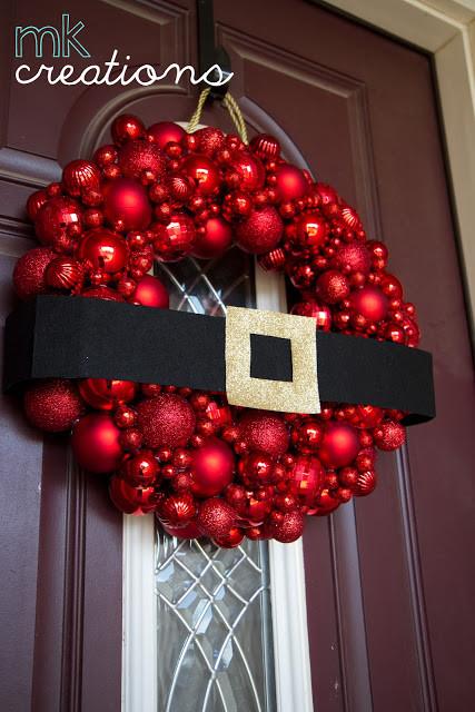 Best ideas about DIY Ornament Wreath . Save or Pin Christmas Crafts DIY Christmas Wreaths landeelu Now.
