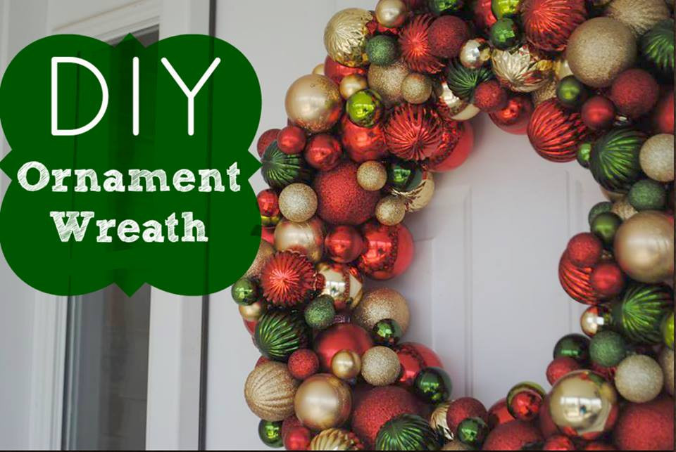Best ideas about DIY Ornament Wreath . Save or Pin DIY Ornament Wreath FTM Now.