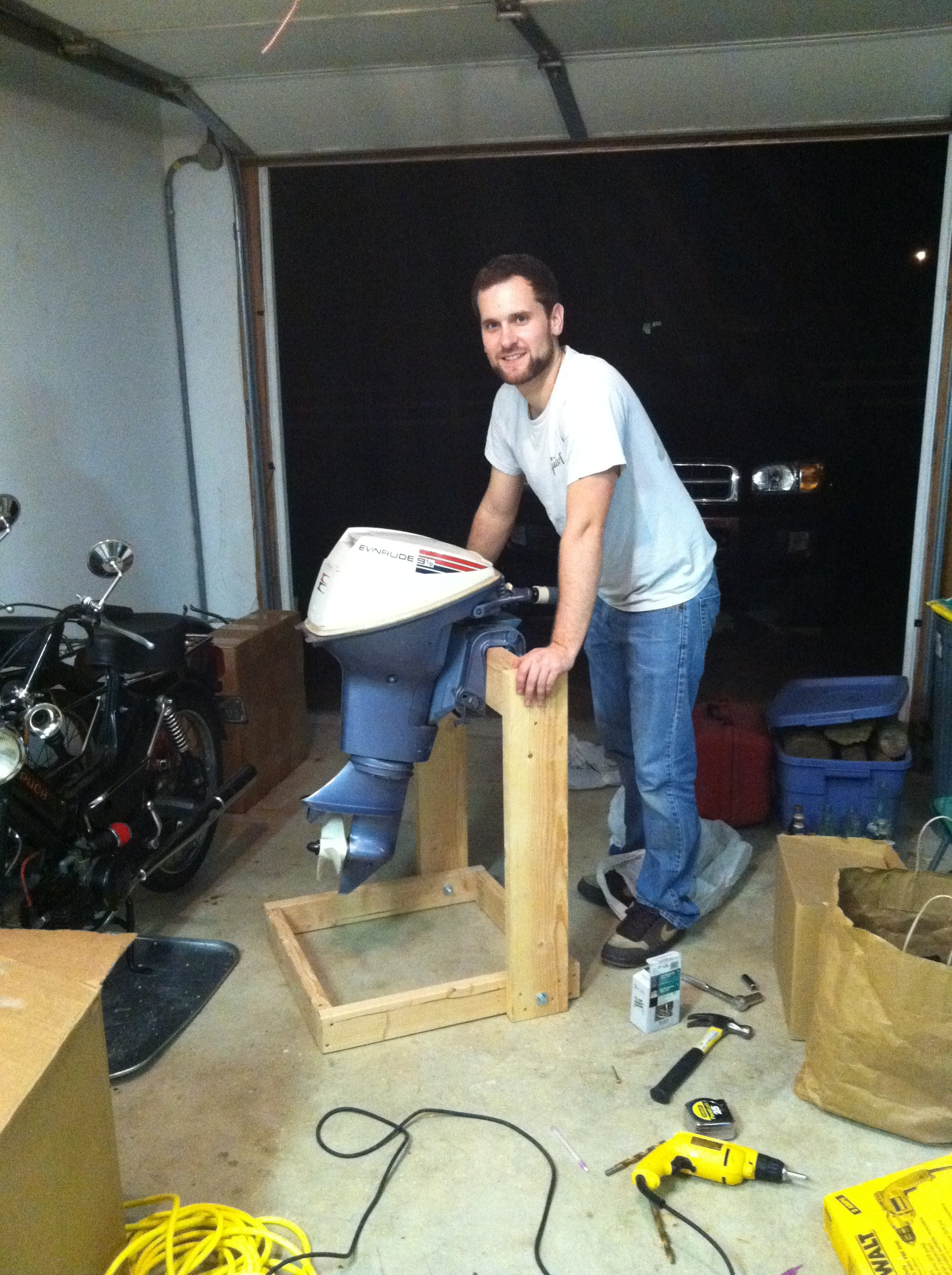 Best ideas about DIY Outboard Motor Stand . Save or Pin Plans For Wood Outboard Motor Stand Plans Free Download Now.