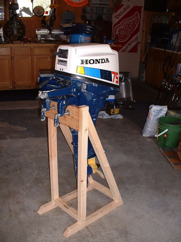 Best ideas about DIY Outboard Motor Stand . Save or Pin diy motor stand Google Search Now.