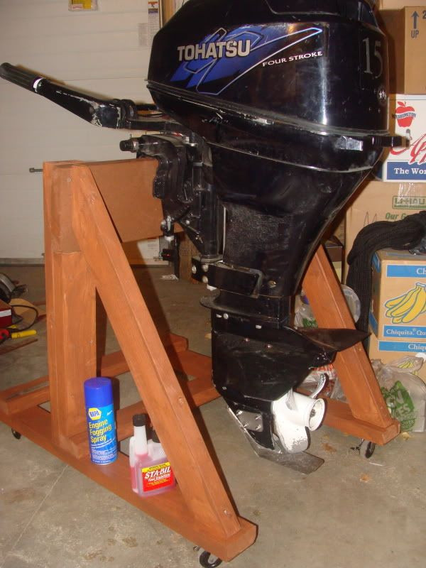 Best ideas about DIY Outboard Motor Stand . Save or Pin DIY Outboard motor stand pictures and plans Now.