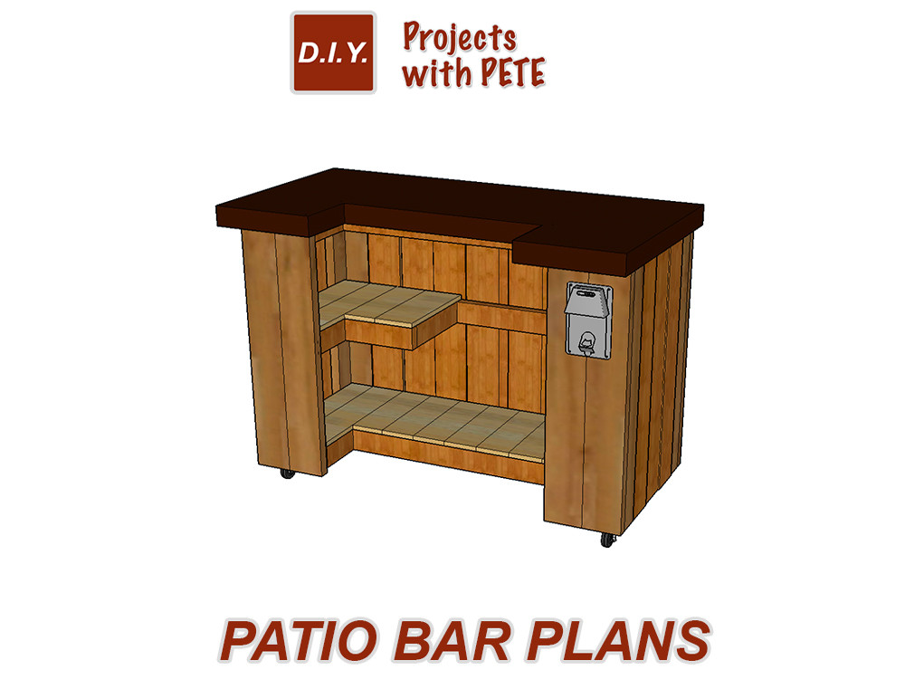 Best ideas about DIY Outdoor Bar Plans . Save or Pin DIY Project Plans Downloadable Detailed Plans and Cut List Now.